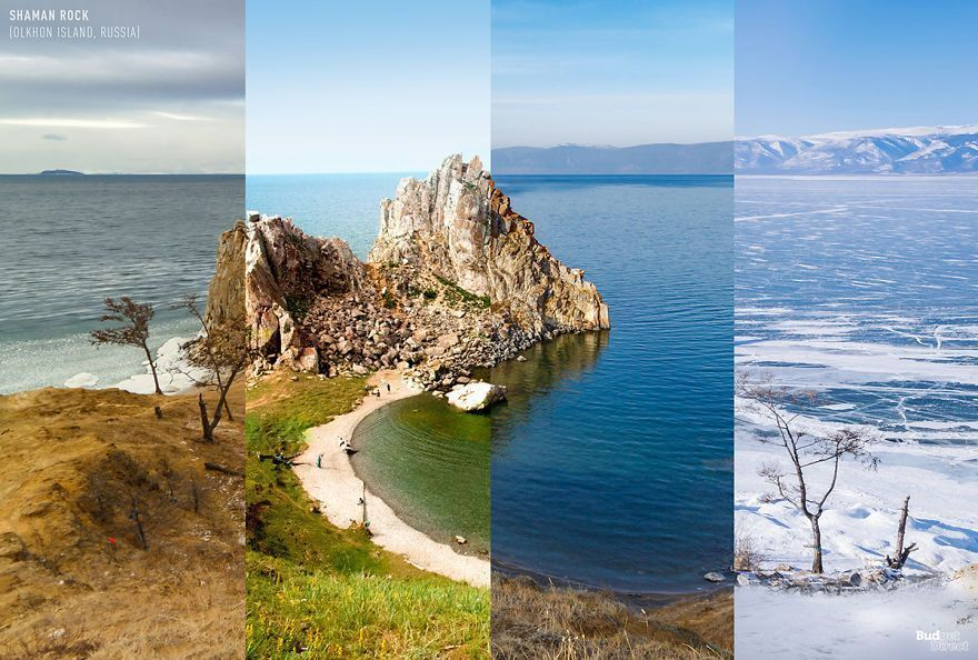 This Is How 8 Different Locations Around The World Look Across The Four Seasons