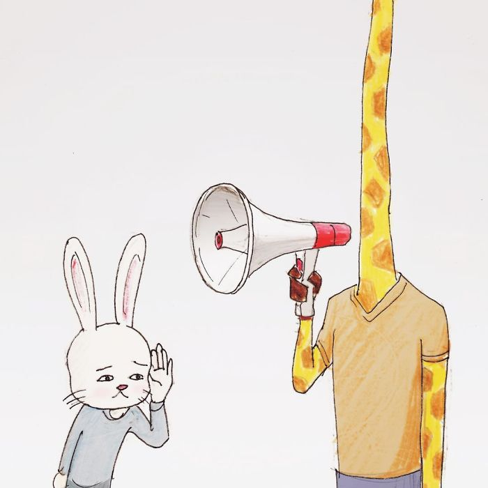 54 Problems Of A Giraffe Hilariously Illustrated By Japanese Artist Keigo