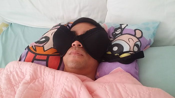 73 Times People Were Caught Sleeping In Unusual And Funny Ways