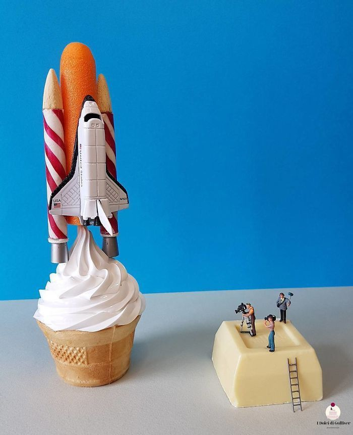 This Pastry Chef Transforms Plain Desserts Into Miniature Worlds And We Couldn't Eat Them