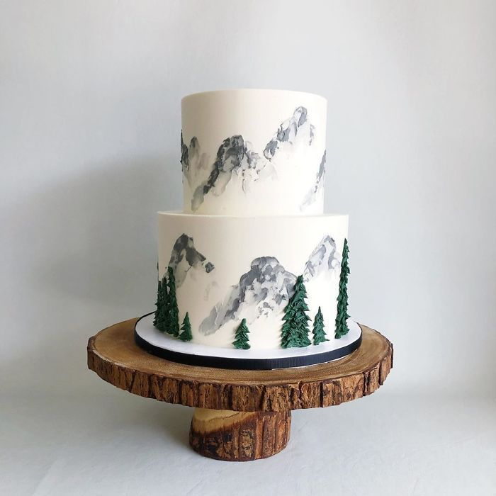 30 Aesthetically Pleasing Cakes By This Canadian Baker