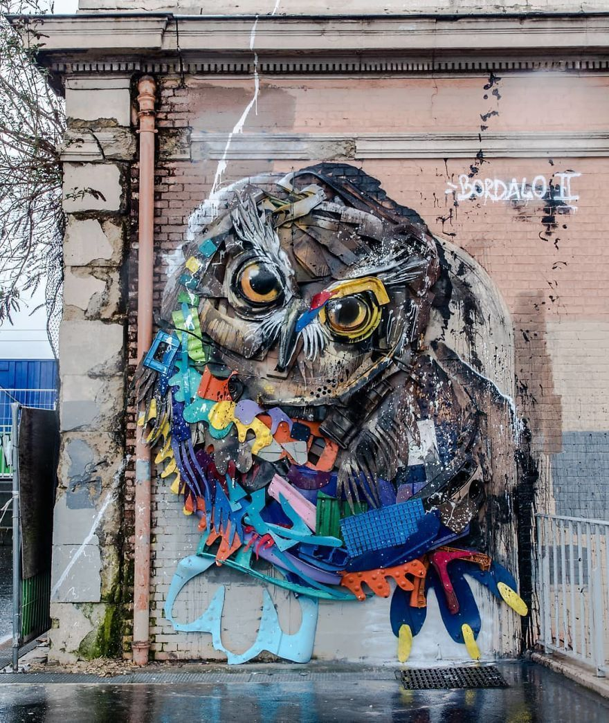 Artist Turns Trash Into Animals To Remind Us About Pollution (75 New Pics)