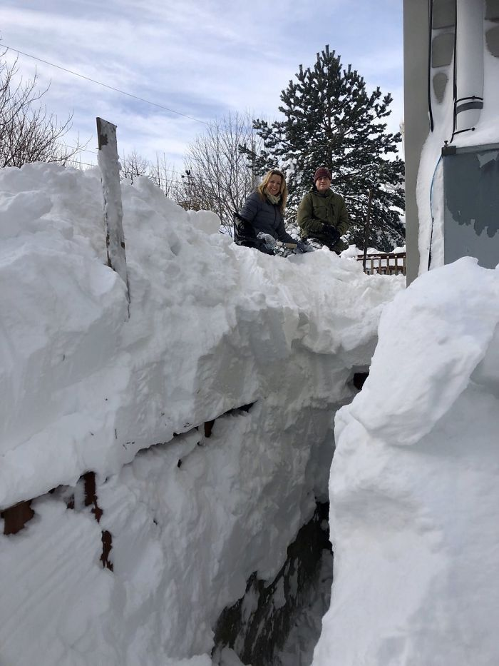 60 Pics Showing How Canadians Are Dealing With An Unprecedented Blizzard