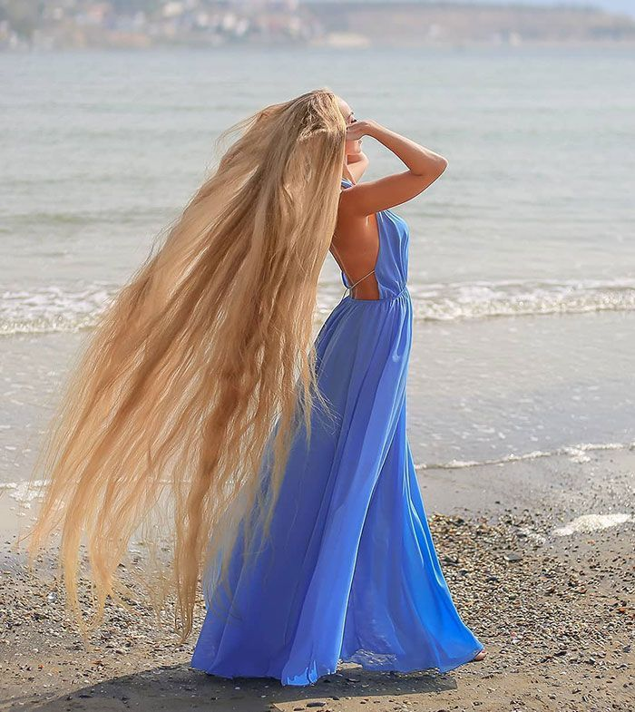 The Woman Who Refused To Cut Her Hair Since She Was 5 Is Now 34 Y.O. And Looks Like A Real-Life Rapunzel