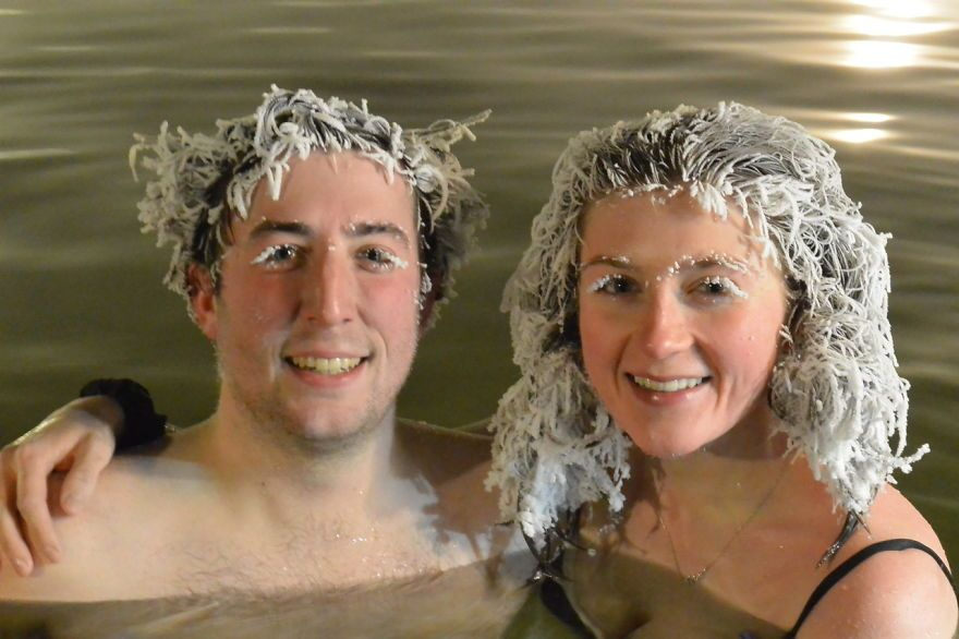 Canada Has An Annual Hair Freezing Competition And This Year's Pics Are Crazy (105 Pics)