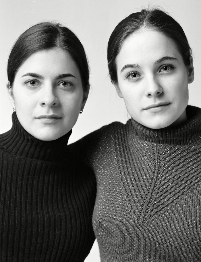 Photographer Finds Look-Alikes That Are Not Actually Related By Blood But Look Incredibly Similar (30 Pics)