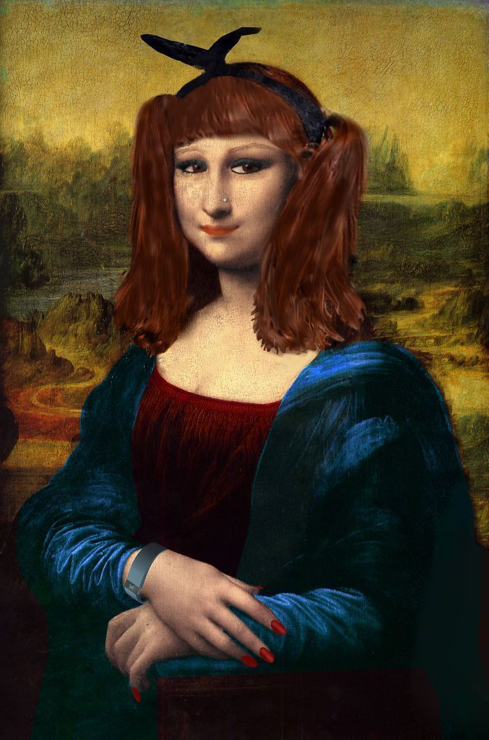 47 Unexpected Versions Of The Mona Lisa Reimagined By Digital Artists