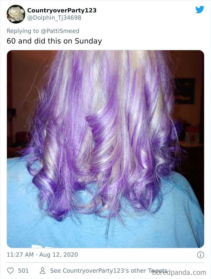 Older People Are Sharing Their Brave Hairstyles, And They Look Great (30 Pics)