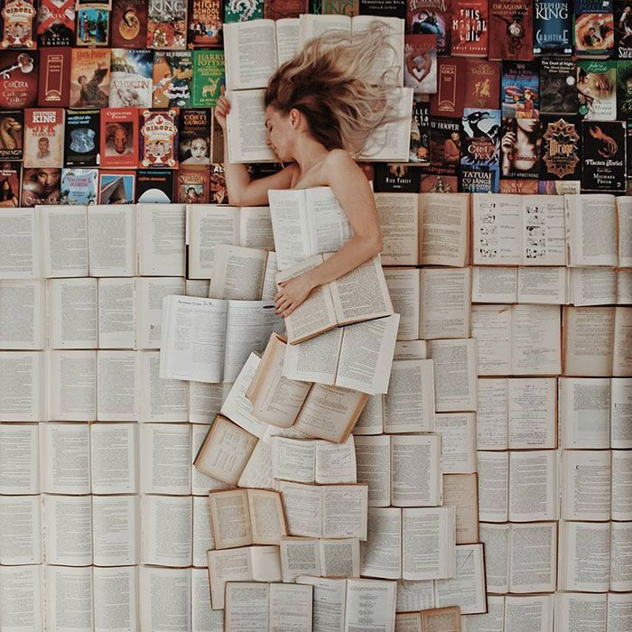 55 Impressive Installations Created By A Book Lover And Photographer Combining Her Two Hobbies