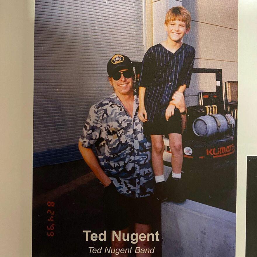 Guy Shares His Photo Album Where He Is Posing Alongside Celebrities (30 Pics)