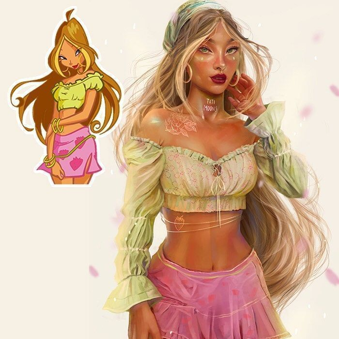 Famous Cartoon Characters Look Like Modern-Day Grown-Ups In 14 Illustrations By Tati MoonS (New Pics)